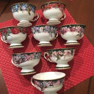 1992 Bradford Edition Cups by artist Anna Liu's
